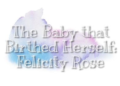 The Baby who Birthed Herself: Felicity's Birth Story